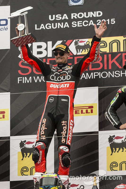 Juara balapan Chaz Davies, Ducati Team
