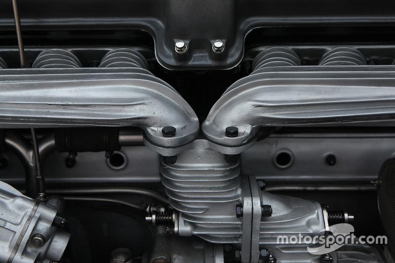 Detail mesin Alfa Romeo