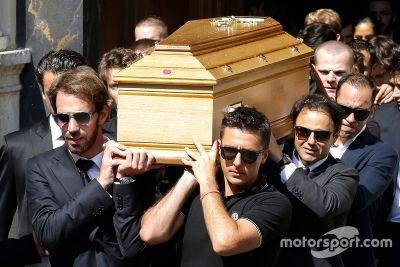 Funeral de Jules Bianchi