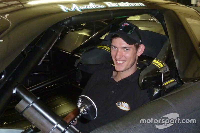 Matthew Brabham tests David Gilliland Racing