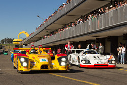 Porsche RS Spyder and Porsche 936
