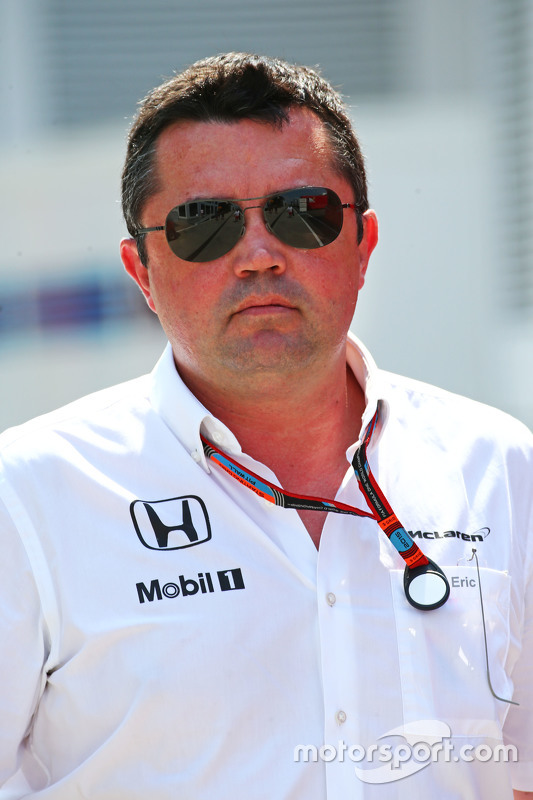 Eric Boullier, diretor da McLaren Racing