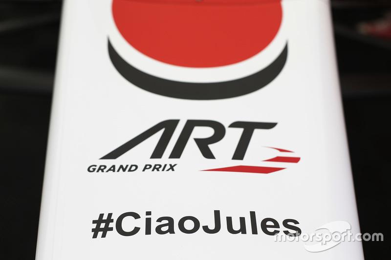 #CiaoJules di mobil ART Grand Prix