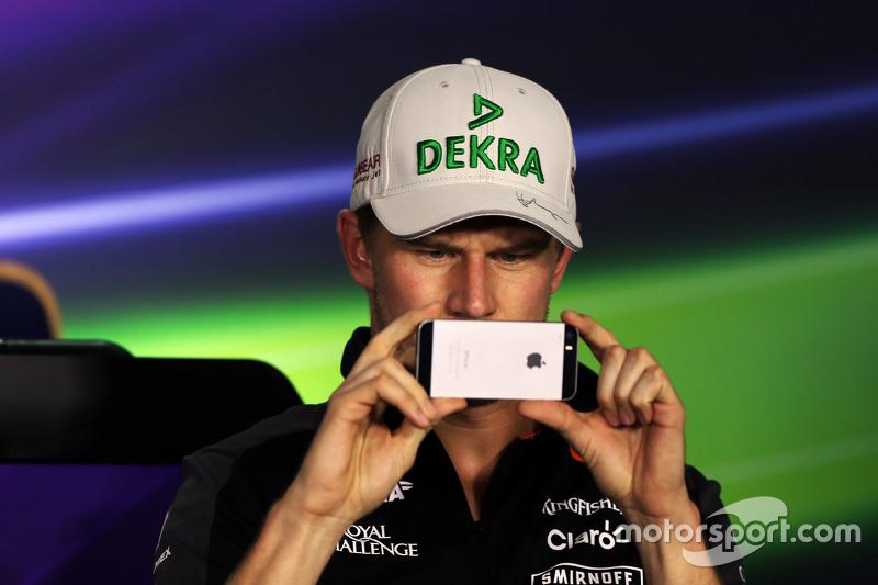 Ніко Хюлкенберг, Sahara Force India F1 на пресс-конференції FIA