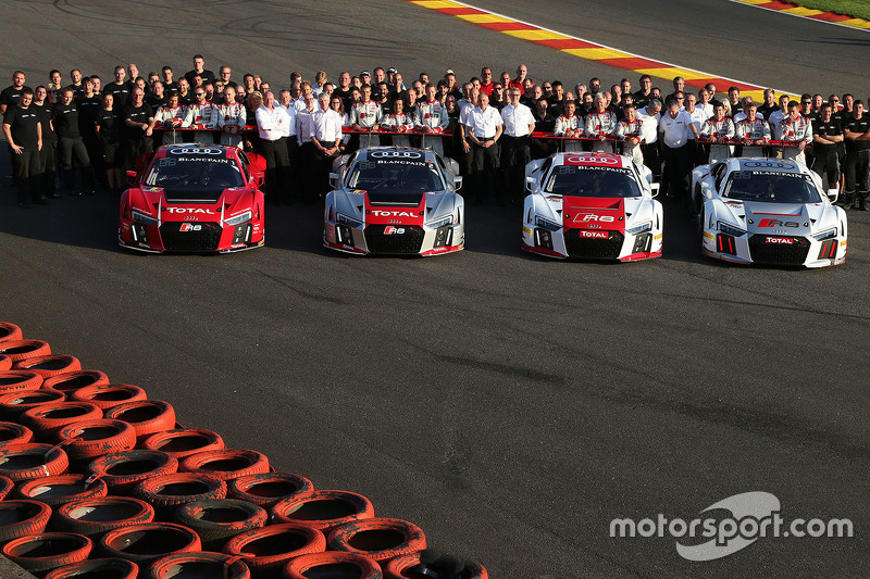 Official Audi Sport team photo