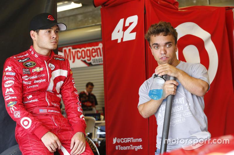 Kyle Larson und Rico Abreu
