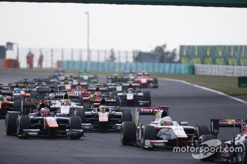 Stoffel Vandoorne, ART Grand Prix & Rio Haryanto, Campos Racing, di start
