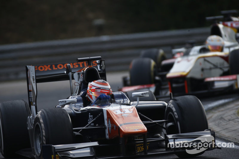 Raffaele Marciello, Trident leads Arthur Pic, Campos Racing