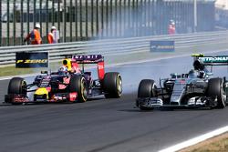Даниэль Риккардо, Red Bull Racing и Нико Росберг, Mercedes AMG F1 Team