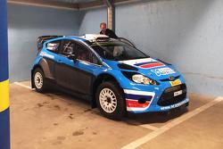 Алексей Лукьянюк знакомится с Ford Fiesta RS WRC