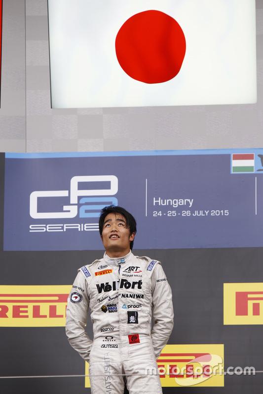 Winnaar: Nobuharu Matsushita, ART Grand Prix