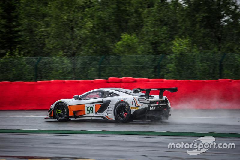 #59 Von Ryan Racing McLaren 650S GT3: Bruno Senna, Alvaro Parente, Адріан Куайф-Хоббс