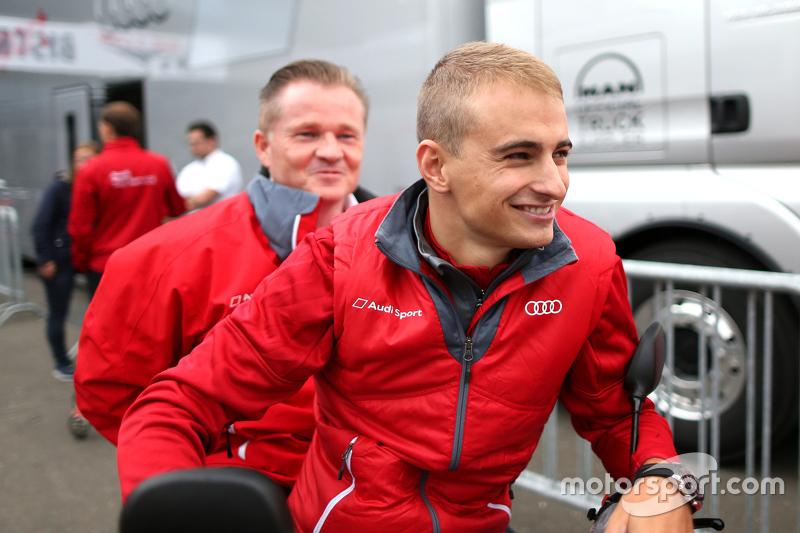 Nico Müller and Karl Jennings , Audi Sport Team Rosberg Audi RS 5 DTM