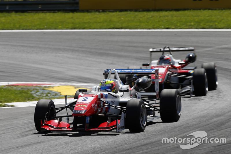 Jake Dennis, Prema Powerteam Dallara Mercedes-Benz and Felix Rosenqvist, Prema Powerteam Dallara Mercedes-Benz