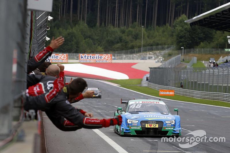 Miguel Molina, Audi Sport - Takım: Abt Audi RS 5 DTM galibiyete ulaşıyor