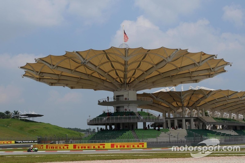 Tribünen in Sepang