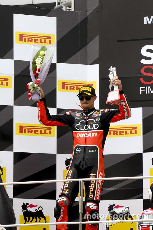 Peringkat kedua Chaz Davies, Ducati Team