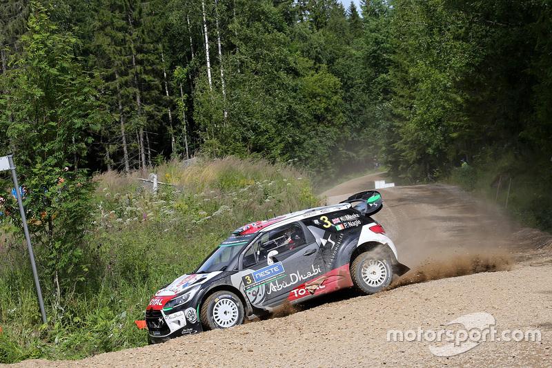 Kris Meeke, dan Paul Nagle, Citroën DS3 WRC, Citroën World Rally Team