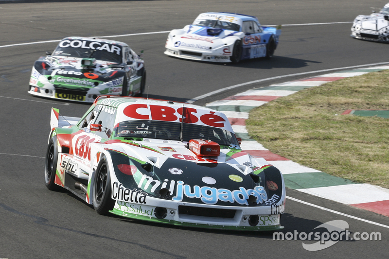 Carlos Okulovich, Maquin Parts Racing Torino dan Gaston Mazzacane, Coiro Dole Racing Chevrolet dan F
