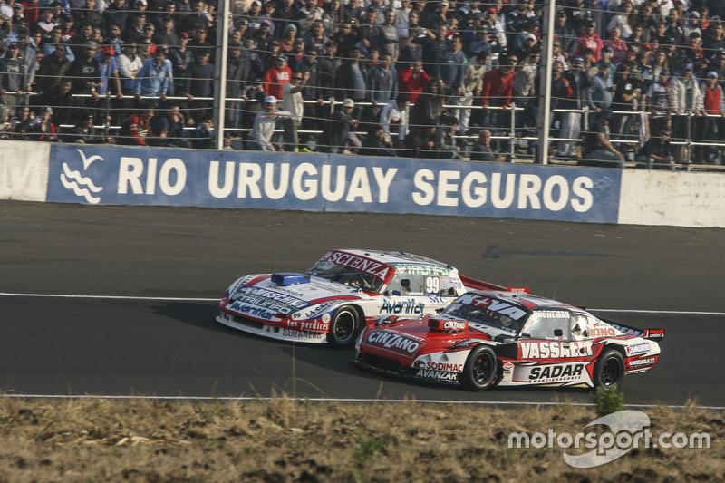 Matias Jalaf, Catalan Magni Motorsport Ford, dan Matias Rossi, Donto Racing Chevrolet
