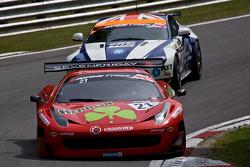 #21 Rosso Verdi Ferrari 458 İtalya: Hector Lester, Benny Simonsen