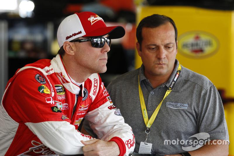 Kevin Harvick, Stewart-Haas Racing and Greg Zipadelli