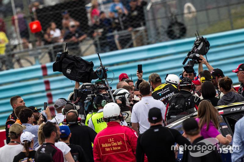 Ty Dillon, Richard Childress Racing dan Regan Smith, JR Motorsports