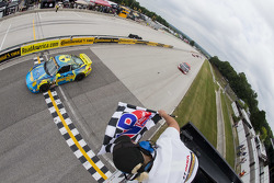 #13 Rum Bum Racing Porsche 997: Matt Plumb, Hugh Plumb takes the win