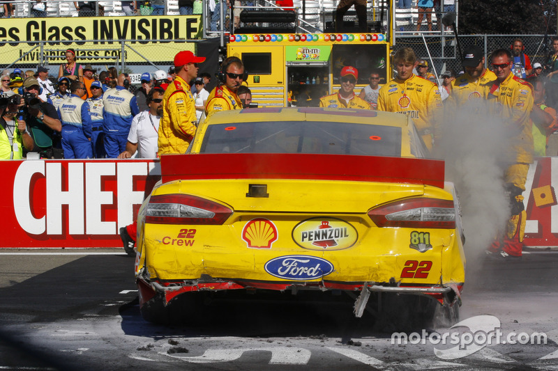 Race winner: Joey Logano, Team Penske Ford