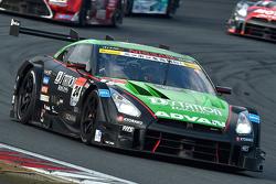 #24 D'station Advan Nissan GT-R: Daiki Sasaki, Michael Krumm