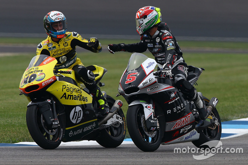 Johann Zarco, Ajo Motorsport and Alex Rins