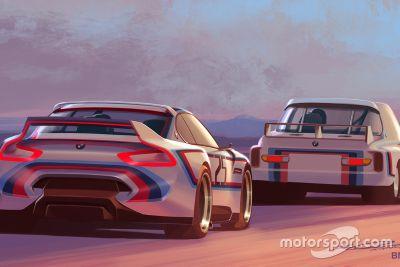 BMW 3.0 CSL Hommage R presentatie
