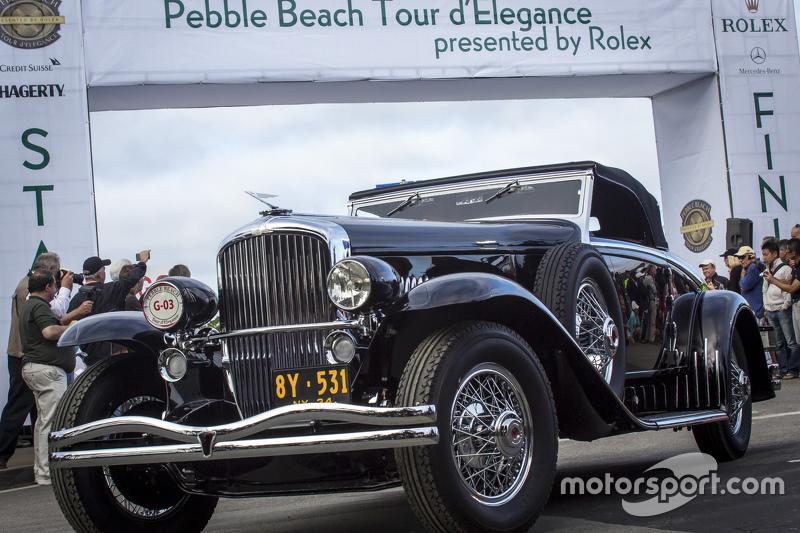 Harry Yeaggy, 1934 Duesenberg J Walker-LaGrande Convertible Coupe