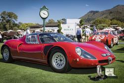 "Alfa Romeo Tipo 33 Stradale 1968, Pemenang Rolex Circle of Champions ""Best of Show"" Award 2015"