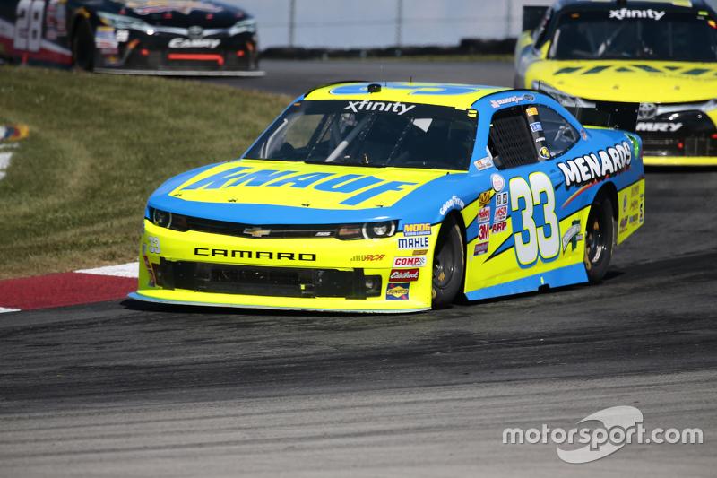 Brdanon Jones, Richard Childress Racing Chevrolet