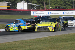 Brdanon Jones, Richard Childress Racing Chevrolet dan Cale Conley, TriStar Motorsports Toyota