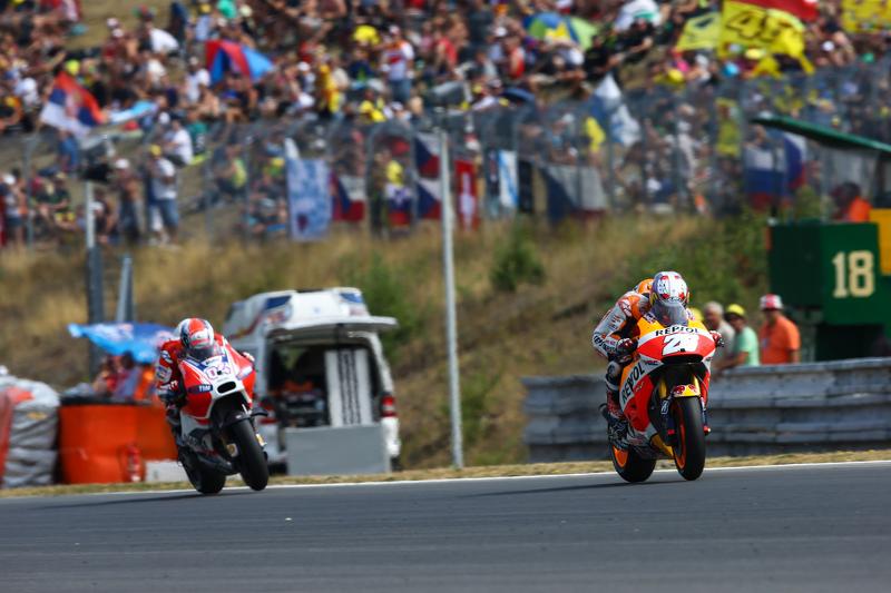 Dani Pedrosa, Repsol Honda Team dan danrea Dovizioso, Ducati Team