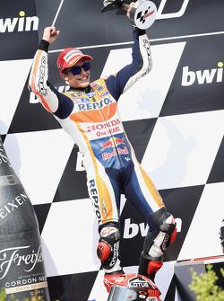 Podium: segundo lugar Marc Márquez, Repsol Honda Team