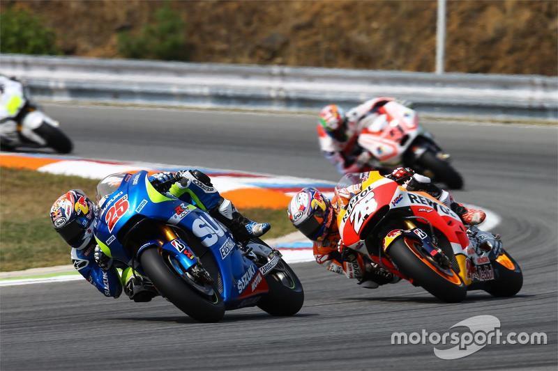 Maverick Viñales, Team Suzuki MotoGP, dan Dani Pedrosa, Repsol Honda Team