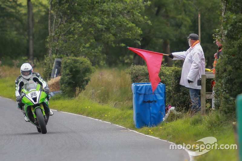 Red Flag for an accident on course