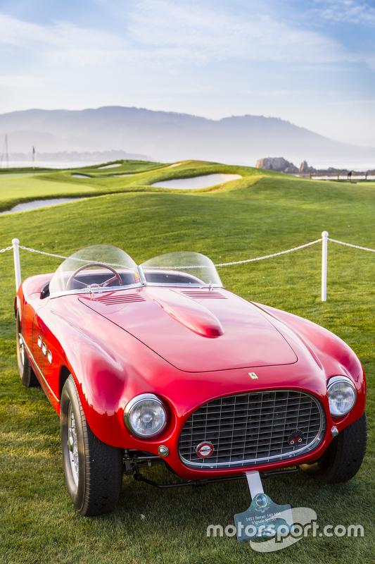 Les Wexner, 1952 Ferrari 340 Mexico Vignale Spyder