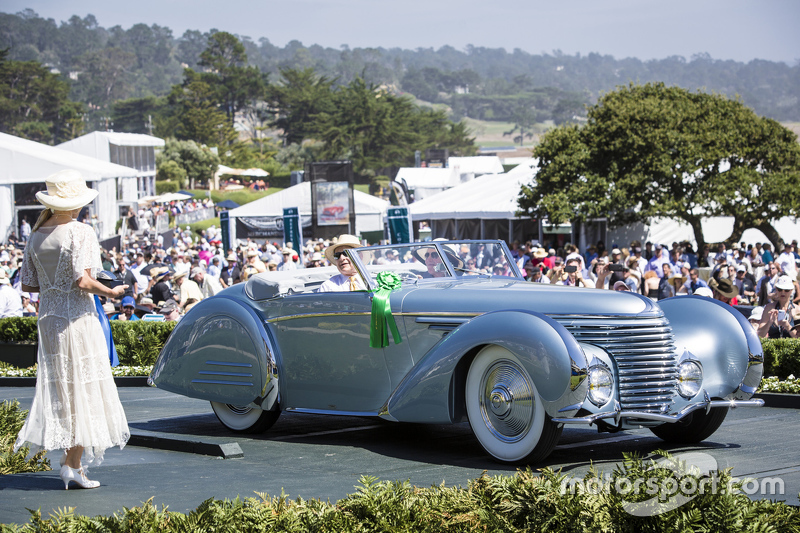 Sam & Emily Mann. 1937 Delahaye 145 Franay Cabriolet