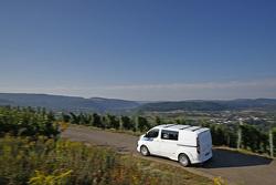 A WRC Ford Transit