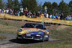 Francois Delecour ve Dominique Savignoni, Porsche 911 GT3