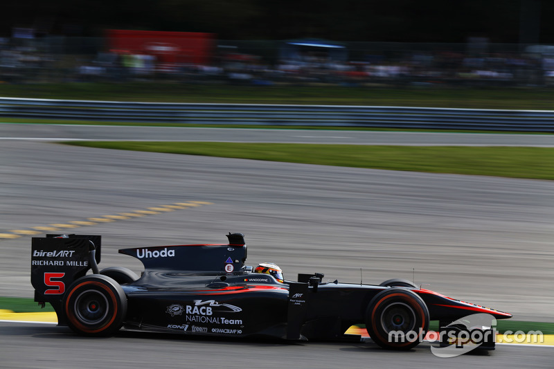 GP2 Series 2015 Seri Ke- 7. Spa-Francorchamps, Spa, Belgia. Jumat 21 Agustus 2015.  Stoffel Vdanoorne, ART Grand Prix