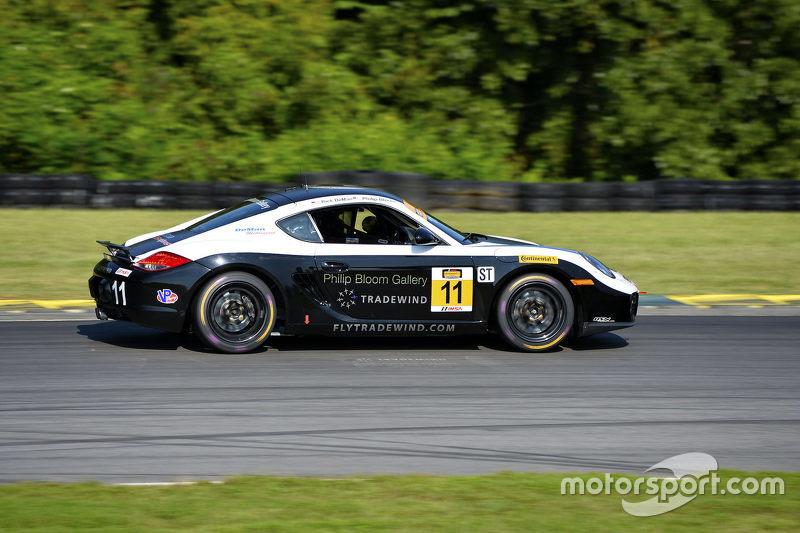 #11 DeMan Motorsport Porsche Cayman: Philip Bloom, Rick DeMan