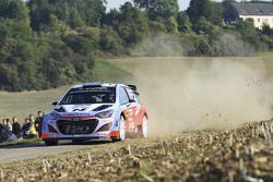 Kevin Abbring et Sebastian Marshall, Hyundai i20 WRC, Hyundai Motorsport