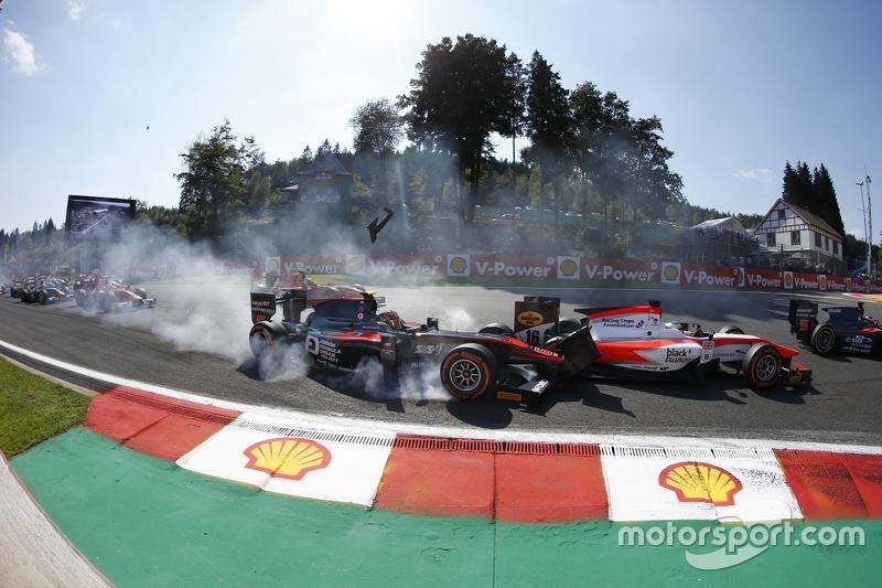 Nobuharu Matsushita, ART Grand Prix & Oliver Rowland, MP Motorsport