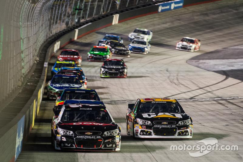 Austin Dillon, Richard Childress Racing Chevrolet dan Ryan Newman, Richard Childress Racing Chevrolet