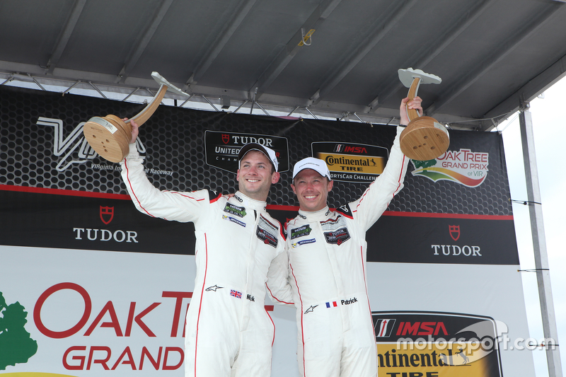 Race winners #911 Porsche North America Porsche 911 RSR: Patrick Pilet, Nick Tandy